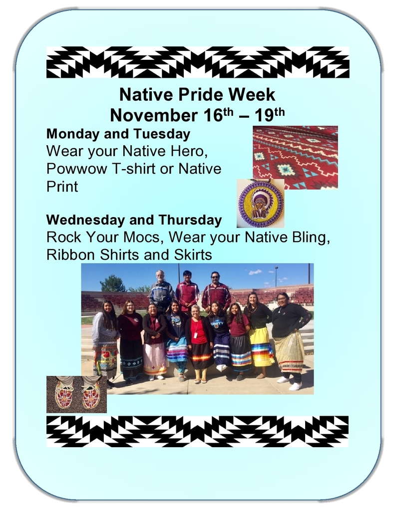 Native Pride Week!